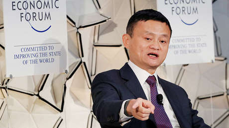 The Chinese billionaire and co-founder of Alibaba, Jack Ma.