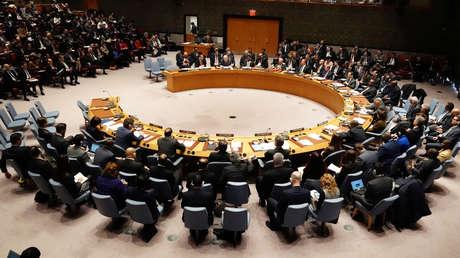 Reunión del Consejo de Seguridad de la ONU sobre la situación en Venezuela. Nueva York, EE.UU., 26 de enero de 2019.