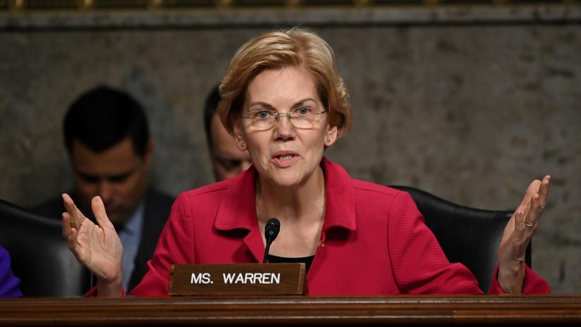 """""""¿Y por qué creo que tiene demasiado poder?"""": La senadora Warren arremete contra Facebook en un anuncio y la red social lo bloquea"""