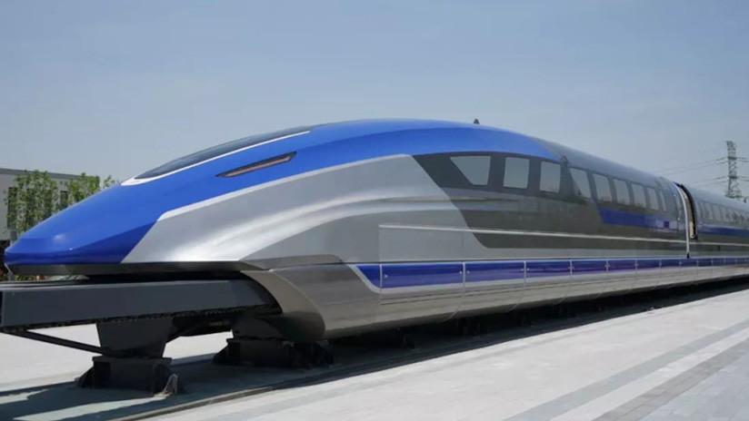China presenta el prototipo de un tren de levitación magnética 'más rápido' que un avión (FOTOS, VIDEO)