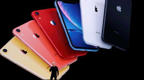 El director ejectuvo de Apple, Tim Cook, durante la presentación en el Steve Jobs Theater de Cupertino (California, EE.UU.), 10 de septiembre de 2019.