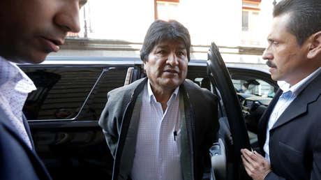Evo Morales dice que Interpol ha emitido una 'ficha azul' en su contra