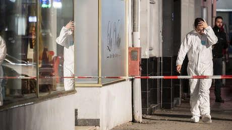 Identifican al autor de los tiroteos en Hanau y sospechan que actuó por motivos raciales