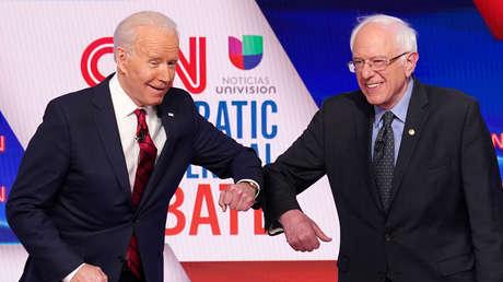 El excandidato presidencial Bernie Sanders anuncia su respaldo a Joe Biden