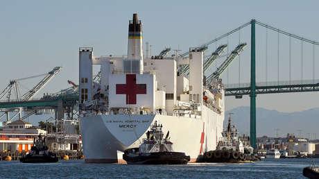 La Amada de EE.UU. pone en cuarentena a 116 marineros tras un brote de coronavirus en un buque hospital