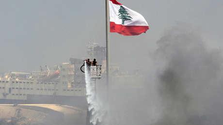 Encuentran varias toneladas de nitrato de amonio en el puerto de Beirut semanas después de que la misma sustancia provocara una masiva explosión