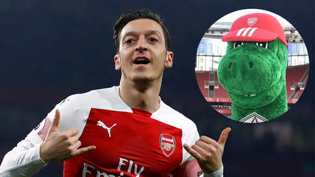 Futbolista Mesut Ozil
