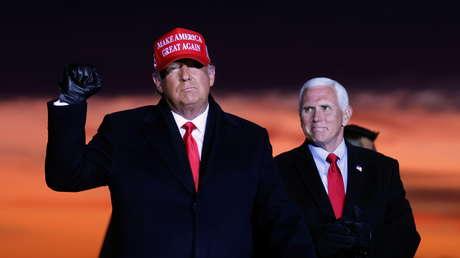 """Pence se niega a destituir a Trump y señala a Pelosi que la 25.ª enmienda """"no es una herramienta de castigo ni de usurpación"""""""