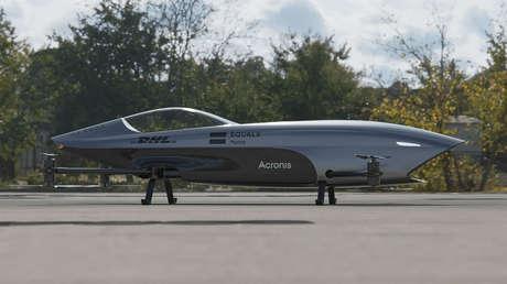 VIDEO: El primer 'bólido' eléctrico volador del mundo surca los cielos por primera vez antes de su debut en las carreras aéreas