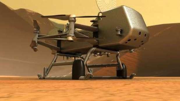 La misión Dragonfly revela sus grandes objetivos de exploración de Titán, uno de los lugares más parecidos a la Tierra en el Sistema Solar