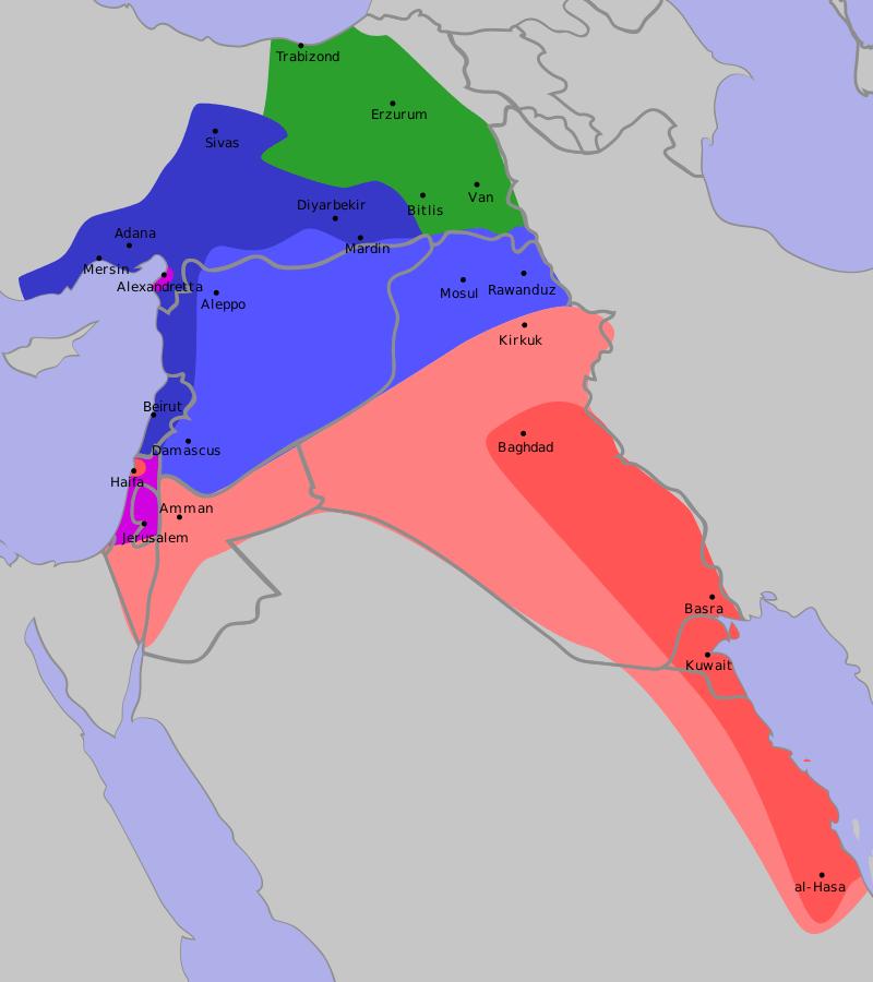 Pakt der Schande: Das koloniale Sykes-Picot-Abkommen als Wurzel des Nahost-Konflikts