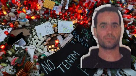 Der getötete Imam Abdelbaki Es Satty auf einer Aufnahme der spanischen Polizei.