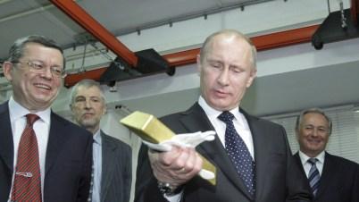 Russland erhöht massiv seine Goldreserven mit einem Ziel: Keine Abhängigkeit mehr vom US-Dollar