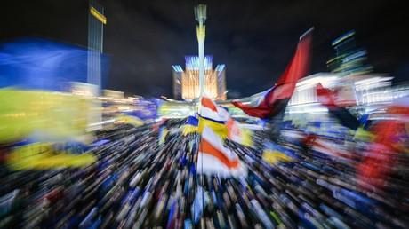 Am 7. Dezember 2013 auf dem Kiewer Maidan Nesalezhnosti.