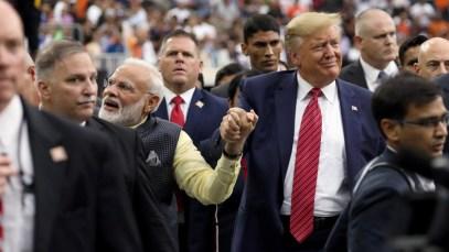 USA wollen durch Handelsabkommen mit Indien Druck auf China erhöhen