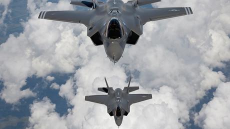 Zugang verweigert: NATO will in russischen A2/AD-Zonen operieren. (Archivbild von US-Kampfflugzeugen des Typs F-35 der Northrop Grumman Corporation. Datum und Ort unbekannt)