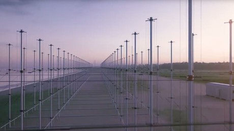 Russische Überhorizont-Radare können Stealth-Flugzeuge erkennen – Flugabwehr wird weiter ausgebaut (Antennenfeld einer