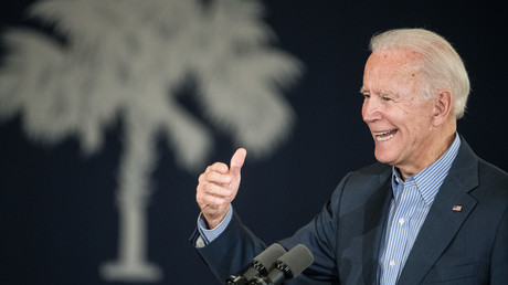 Joe Biden im Wahlkampf in South Carolina im Oktober 2019