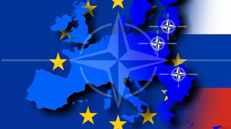 Das Symbolbild zeigt die Stationierung der schnellen Eingreiftruppe der NATO: im Baltikum, in Polen und in Rumänien.