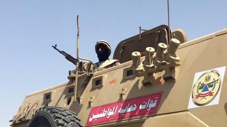 Ein ägyptischer Soldat. Archivbild.