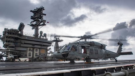 Kriegsgefahr: Trump widersetzt sich Pentagon – US-Flugzeugträger verbleibt im Persischen Golf