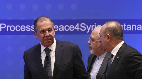 Russland, Türkei, Iran setzen gemeinsame Anstrengungen zur Bekämpfung des Terrorismus in Syrien fort