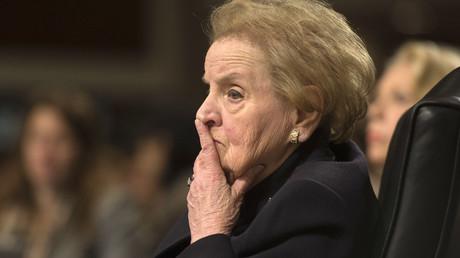 Former Secretary of State Madeleine Albright. © Jim Watson