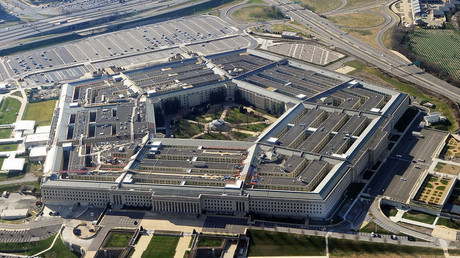 Aerial view of the Pentagon. © AFP