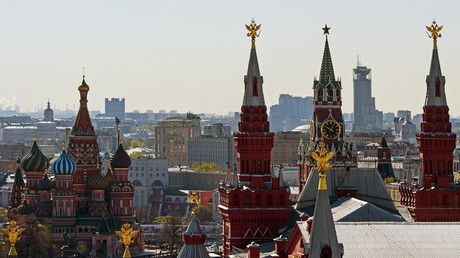 A view from the Hotel Moskva on the Kremlin. © Alexander Vilf