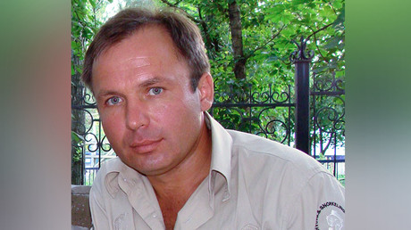Russian pilot Konstantin Yaroshenko. ©Sputnik