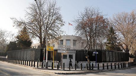 General view of the U.S. Embassy in Ankara © Umit Bektas
