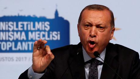 Turkish President Recep Tayyip Erdogan. ©Murad Sezer