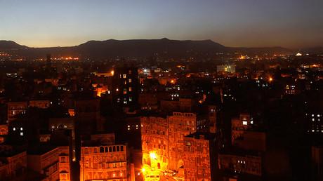 Saudi-led warplanes strike defense ministry in Yemeni capital