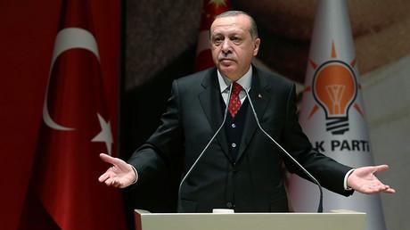 Turkey's President Tayyip Erdogan © Murat Cetinmuhurdar