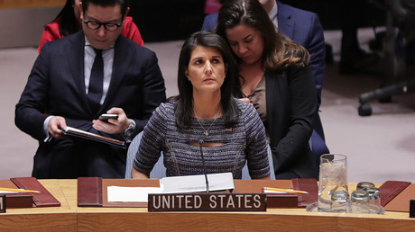 Nikki R. Haley, permanent US representative to the UN © Luiz Rampelotto / EuropaNewswire/ Global Look Press