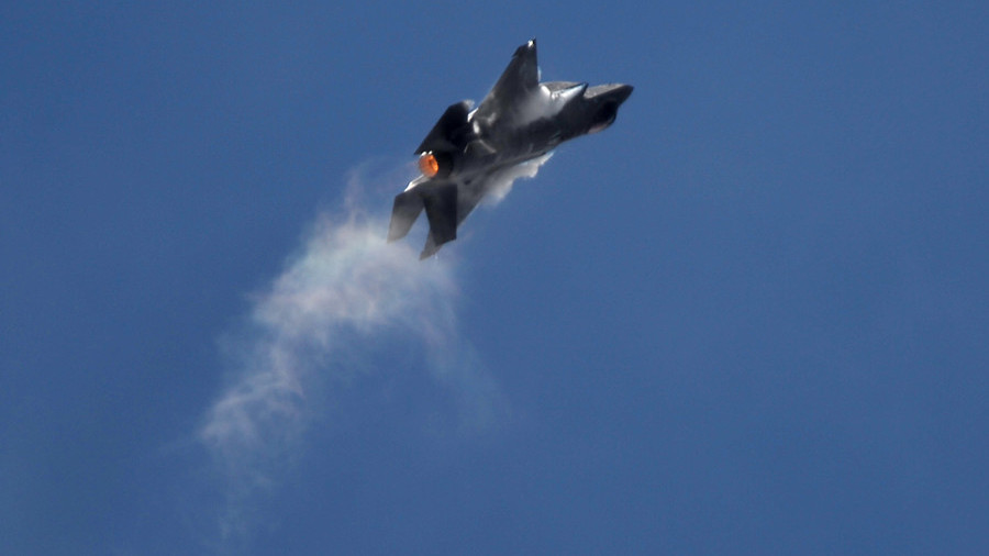 F-35 lands nose-down after midflight emergency over Florida (PHOTO ...