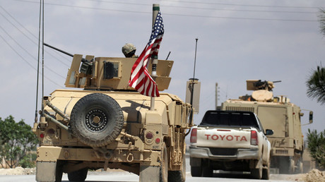 FILE PHOTO US troops in Syria. © Aboud Hamam