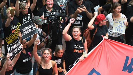 5bb6c84efc7e93b63e8b459b Obstruction of justice? 300 anti-Kavanaugh protesters arrested in Washington (VIDEO, PHOTOS)