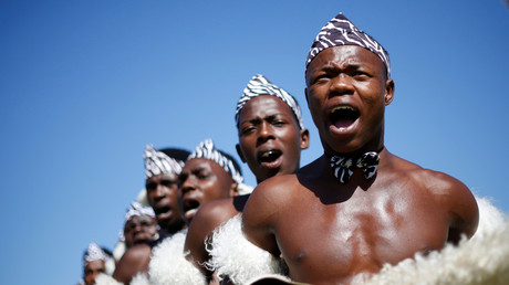 5bbccf39dda4c8312b8b458c South Africa's Zulu nation joins white farmers in fight against government land seizures