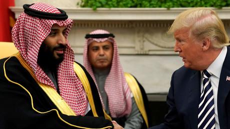 5bbd1163dda4c8342b8b45d7 Critics use alleged murder of Saudi journalist...to bash Trump