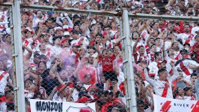 Image result for Copa Libertadores final match suspended over attack on players