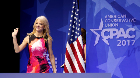 5be04952dda4c8032e8b460a Kellyanne Conway crowns Hillary Clinton 'queen of abortion,' gets own titles in Twitter inferno