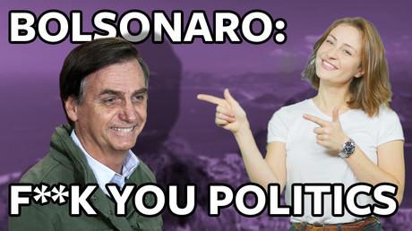 5be57ff0dda4c8551a8b4586 #ICYMI: International wave of 'f*** you' politics reaches Brazil courtesy of Jair Bolsonaro (VIDEO)