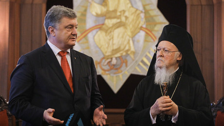 'Church serfdom': Constantinople won't hand Kiev independence, new statute reveals