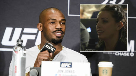 'You suck, do better journalism': Jon Jones slams female reporter over drug test question (VIDEO)