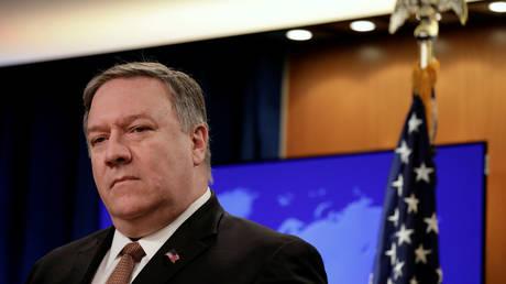 5c8bd5acfc7e93b53a8b4622 'Change your course!': Pompeo threatens ICC over US war crimes probe