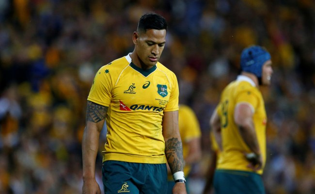 Rugby Star Israel Folau Requests Hearing Over Hell Awaits