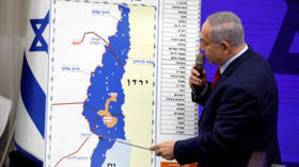Netanyahu vows to annex West Bank's Jordan Valley after Israeli election