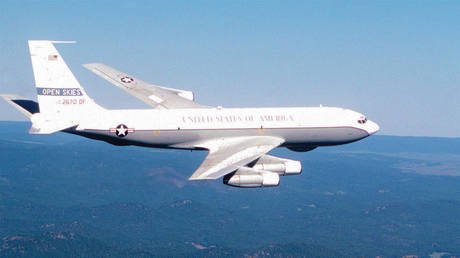 US Air Force's OC-135B Open Skies spy plane (file photo) ©  Flickr/USAF