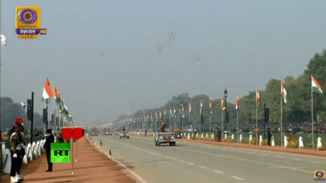 5e2d17b585f54053641ef97b WATCH LIVE: India marks 71st Republic Day with military parade